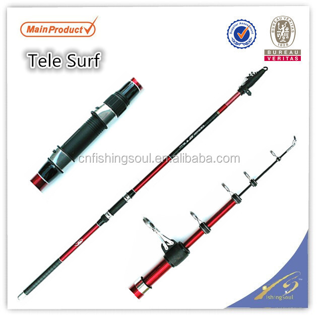 SFR074 im6 carbon blank surf fishing rod surf fishing rod blank telescopic tele surf fishing rod