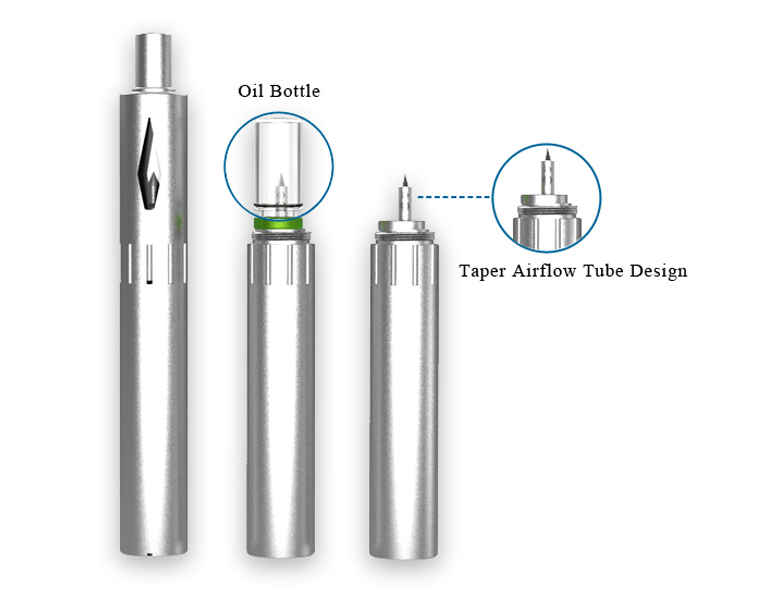 Usa Popular Hot Bud Touch Cbd 510 Oil Vaporizer Pen Stainless Coil 0.5Ml 1.0Ml 0.6Ml Ce3 Kit