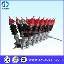 40.5kv-220kv 630a Gaoyan Outdoor High Voltage Mounted Disconnector/Isolation Switch