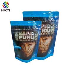 Food grade plastic printed ziplock whey protein powder packaging bags