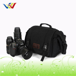 New Design Shockproof Canvas Camera Bag