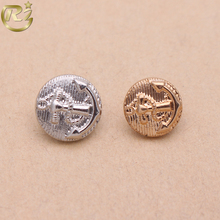 N-1674 Wholesale Sewing Small Size Dome Zinc Alloy Stocklot For Suit Accessory Metal Button