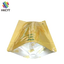 China Supplier Round Bottom Stand Up Pouch With Zipper Plastic Packaging Bag for Coffee Meat Beef Sea food