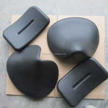 Polyurethane foam sports chair part saddle seat and backrest
