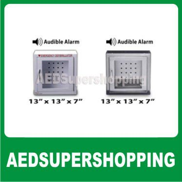 Small AED Cabinet with strobe alarm