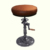 Factory Rustic Style industrial hand crank Vintage Cast Iron Bar Stool for coffee shop