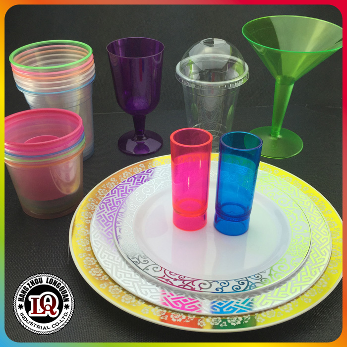 Plastic Party Cup And Plate