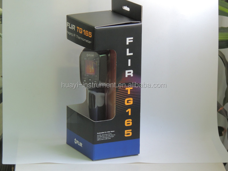 60*80 resolution and 9Hz flir thermography flir tg165 termografic infrared camera