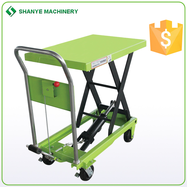 Electric Lift Table with Centre Drive For Materials Handling