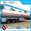 3 axles fuel tanker semi trailer tri-axles fuel tank trailer 50000L mobile fuel trailers