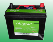 Good Starting Automotive Car Battery Maintenance free battery12V45ah with competitive price