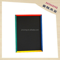 Practical environmental protection wood writing board kids blackboard with four-color side