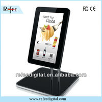 10inch to 15inch small size touch screen desktop retail advertising monitor