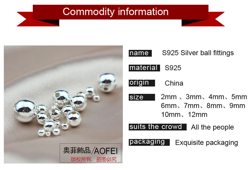 Factory Supply 925 sterling silver charms diy Beads 대 한 Bracelet Necklace Use