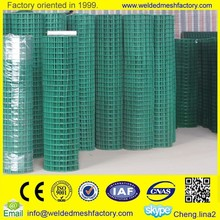 16 gauge pvc coated welded wire mesh