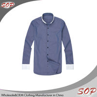Latest style wholesale mens dress polo arrow shirts design made in china