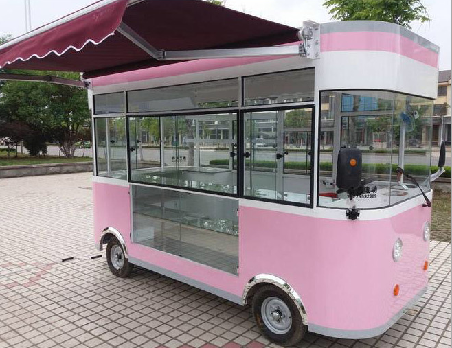 mobile fast food car