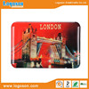 Hot selling london souvenir cheap customized logo epoxy fridge magnet