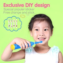 TESLA MAF8600M Battery operated child and baby sonic electric toothbrush