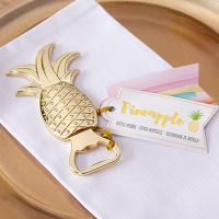 Wedding Favors Gold Pineapple Bottle Opener