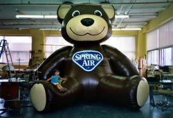Hot sale giant inflatable teddy bear,large teddy bear of children's park decoration
