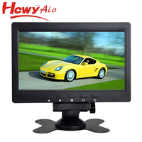 9 inch car lcd mirror high resolution standing rear view car monitor with 2 av inputs