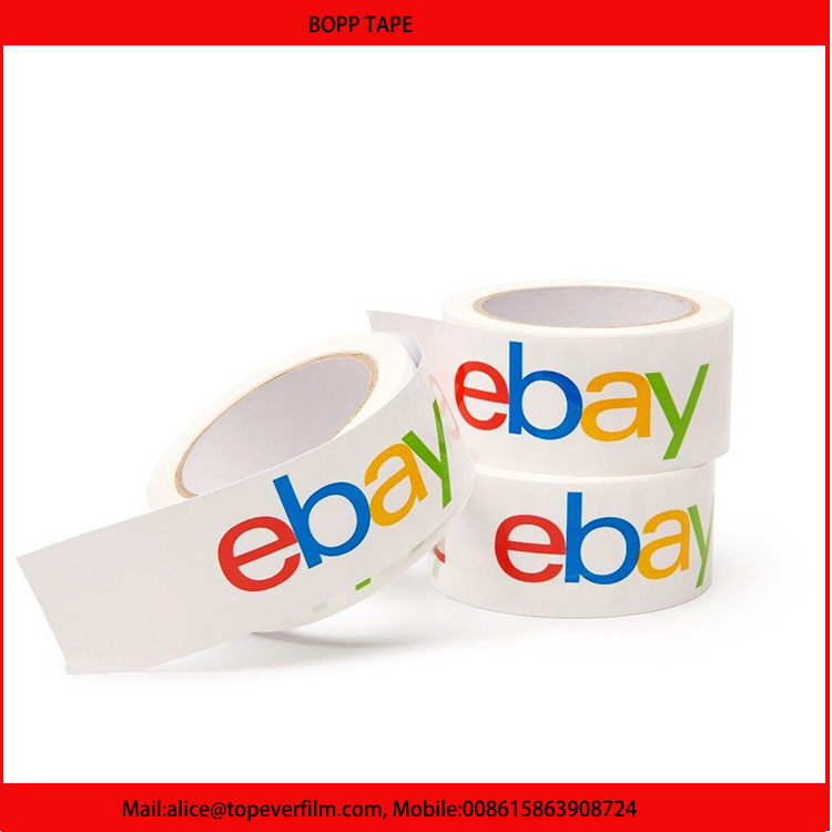 Acrylic Adhesive and Water Activated Adhesive Type bopp packing tape