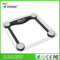 180kg LCD laboratory electronic apple healthkit club glass bmi weight loss bamboo bathroom personal weighing digital scales