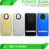 power bank flip case battery back cover for samsung galaxy s5