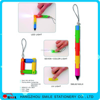 plastic led light pen writing in the dark LED Light Pen with printing logo