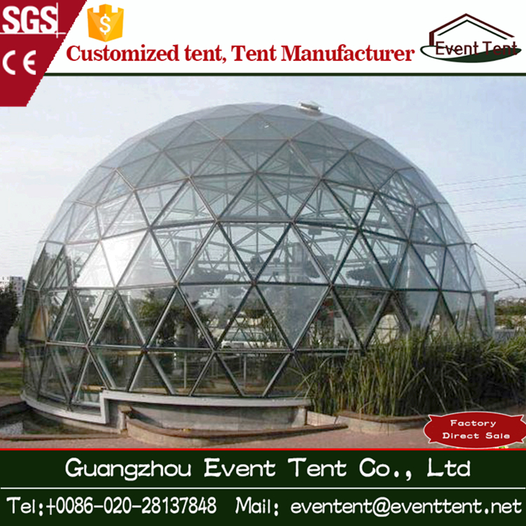Unique Shape UV Resistant Event Party Tents Garden Tent Geodesic Dome Home