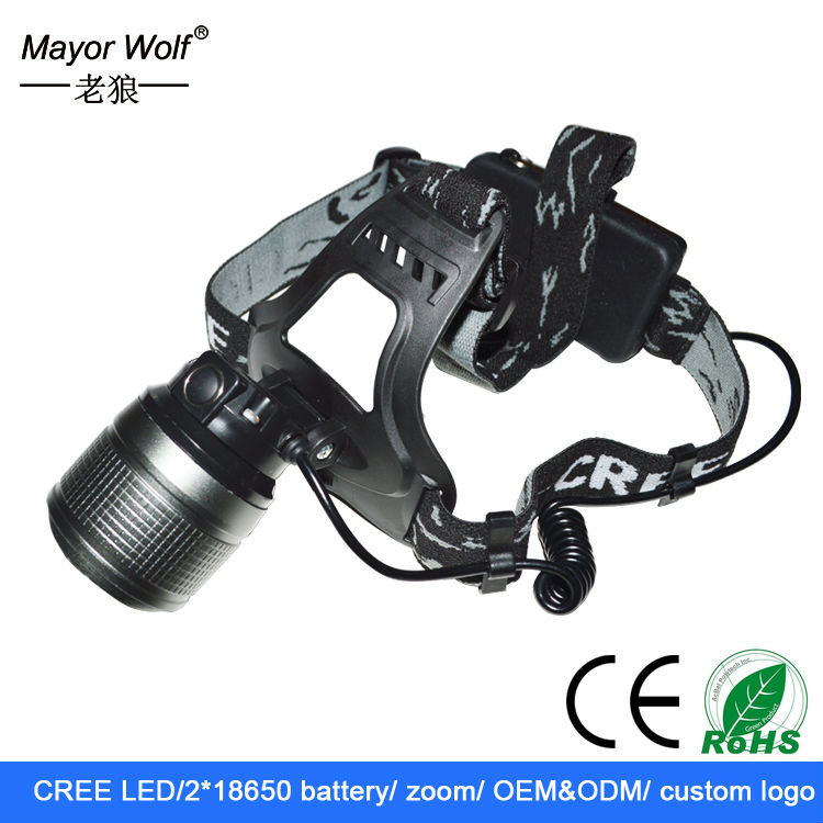 super bright cree Xm <strong>l2</strong> Rechargeable High Power Led Headlamp