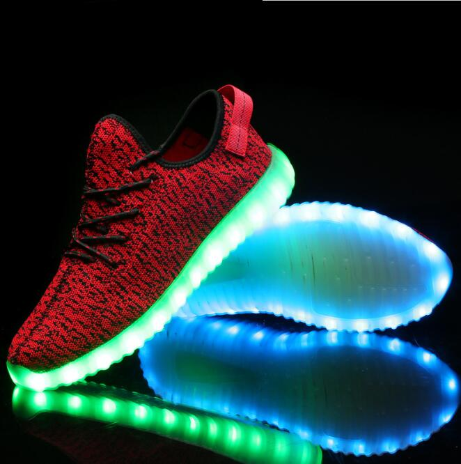 zm40509a led shoes adult bulk wholesale shoes fashion shoes men