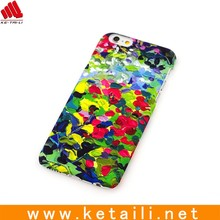 promotion hot selling PC water printing fancy phone case for iphone 6/7