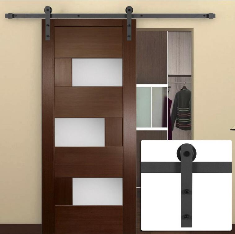 New Design Warehouse Sliding Wooden Barn Door Unfinished Wood Barn Door