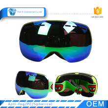Wholesale Outdoor Safety Anti-fog Big Double Lens Snowboarding Ski Googles