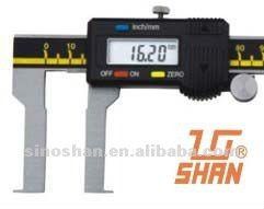 "115-320-2 0.8-6.8"" Big LCD New Type Mechanical Slide Inside Groove Digital Vernier Calipers"