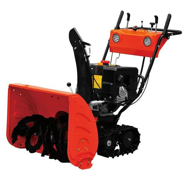 13hp electric start snow thrower