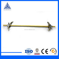building material steel tie rod for concrete formwork