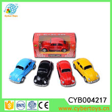 Small alloy pull back model car 1:32 volkswagen beetle classic car