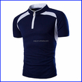 new brand sport no button polo shirt homme zipper two color slim fit shirts