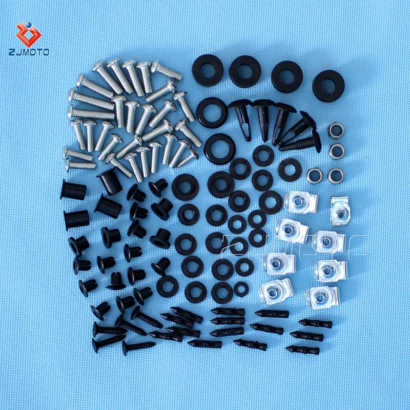 Fasteners Corkscrew Spin Complete Fairing Bolt Kit Body Screws Stainless For 2004-2005 Suzuki GSX-R 600 750