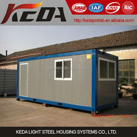 Flat pack prefabricated shipping container houses for sale