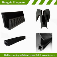 Jiangyin Huayuan supplys Door seals hard rubber