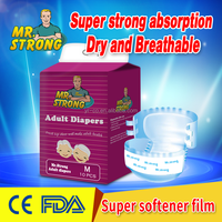 Strict Production Supervision Adult Diaper