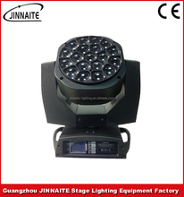 Factory price LED RGBW 19pcs*15w Zoom Clay Paky Bee Eye K20 K10 moving head beam stage light