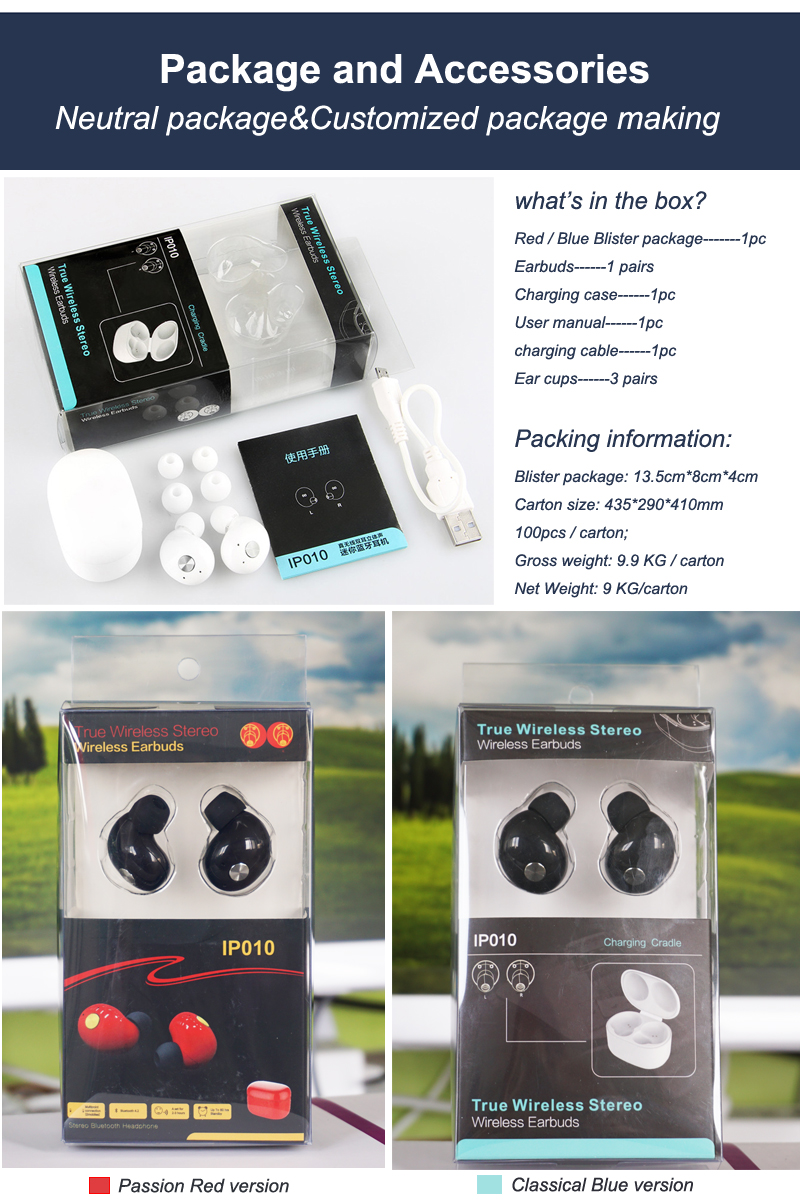 High Quality 4.1/4.0 mobile phone earphone with mic