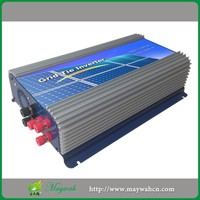 WG2000W 45-90V 3Phase 2000W Wind Grid Tie MPPT Inverter For Wind Turbine No Need Connect To Battery And Controller,LCD Display