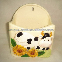 Kitchen decorative hanging holder ceramic pottery