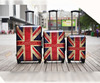 2015 RETRO UNION JACK ABS+PC LUGGAGE SUITCASE (DC-9106)
